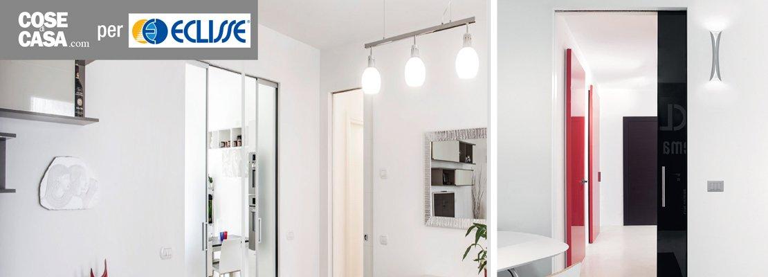 Porte scorrevoli a scomparsa si pu mettere un interruttore sulla parete cose di casa - Assicurazione sulla casa si puo detrarre ...