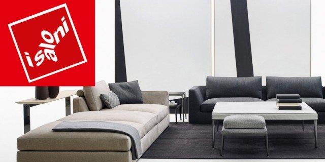 I nuovi divani al Salone del Mobile 2016 sofisticati e visivamente leggeri