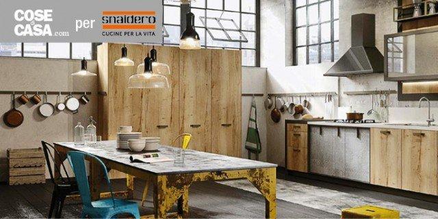 Cucine industrial style: Loft di Snaidero - Cose di Casa