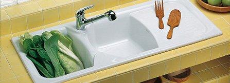 Lavelli e rubinetteria in cucina, funzionali e d\'arredo - marche ...