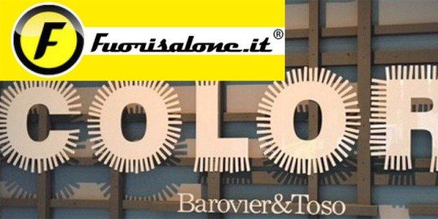 I colori del vetro al Fuorisalone in via Tortona