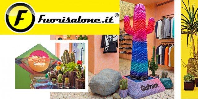 Fuorisalone: per Gufram una speciale edizione di Cactus, l'ironico totem