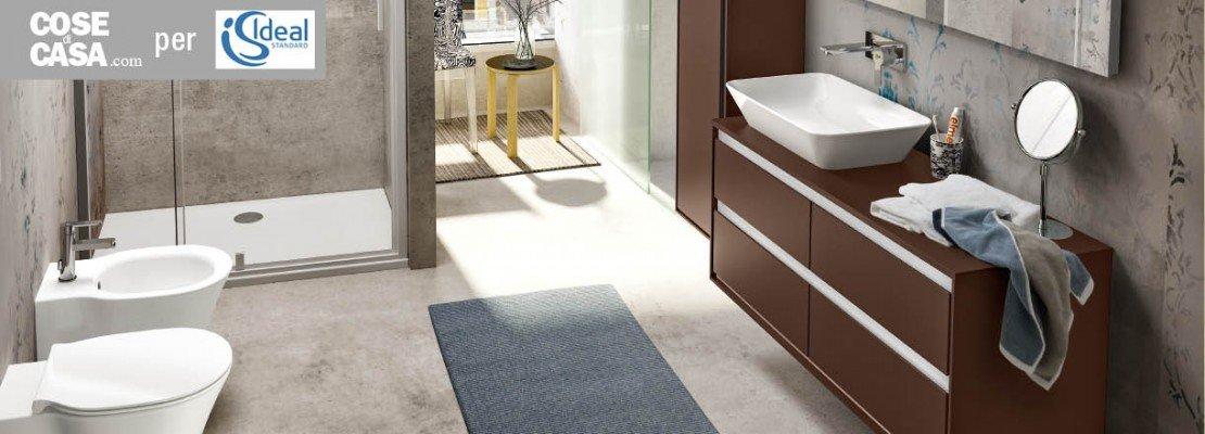 Per il bagno light design per la nuova collezione - Ideal standard mobili bagno ...