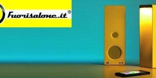 Al Fuorisalone di zona Tortona, Cromatica è sia lampada sia speaker
