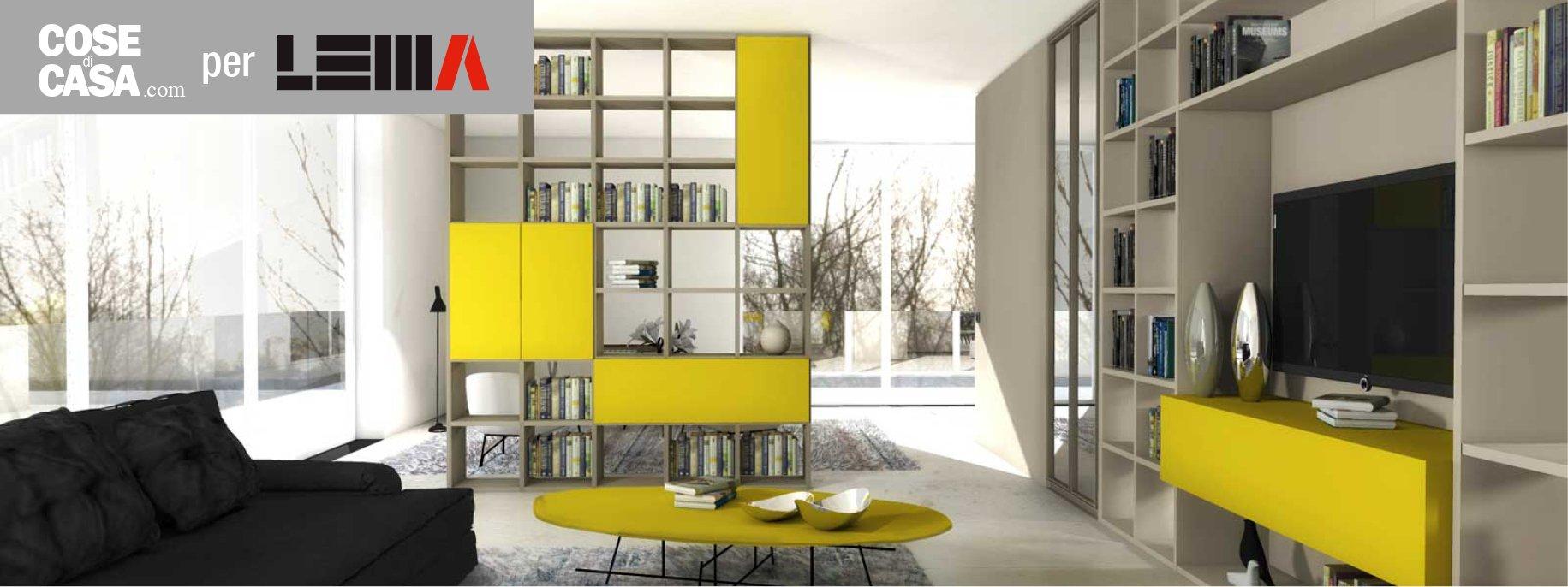 Dividere con i mobili bifacciali senza pareti progetto for Progetta mobili