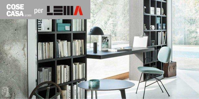 Arredare lo studio le soluzioni lema per l 39 home office for Arredare lo studio di casa