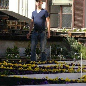 Il progettista e giardiniere Cornelius Gavril