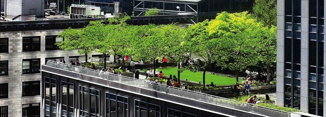 Il tetto giardino solo vantaggi cose di casa - Giardino sul tetto ...