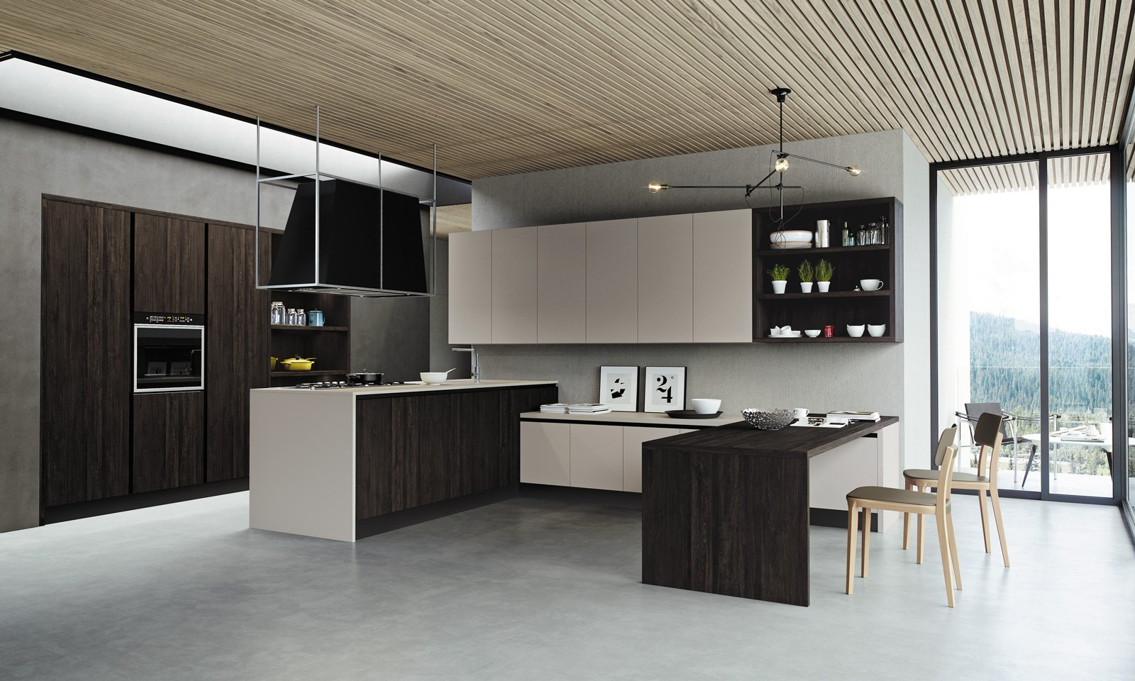 Come Progettare Una Cucina. Beautiful Cucina Open Space Foto Tempo ...
