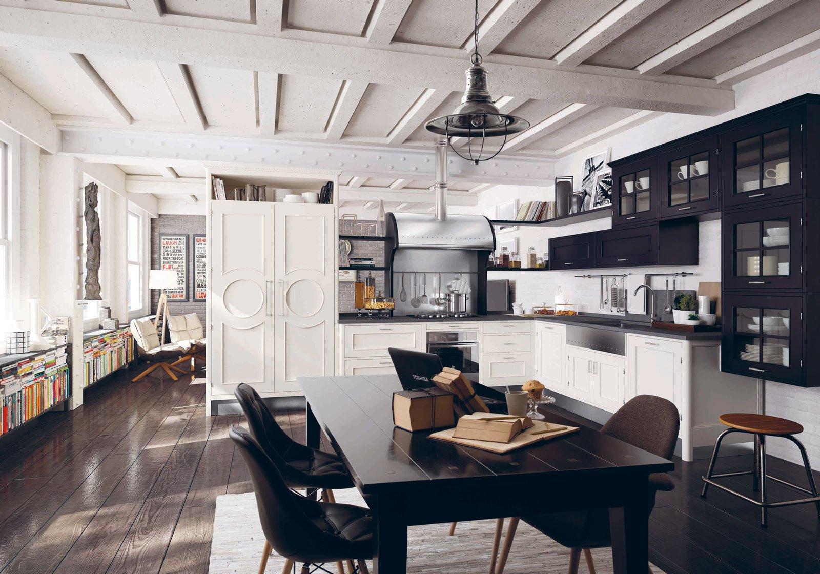 Cucine classiche in legno o laccate cose di casa - Cucine di legno ...