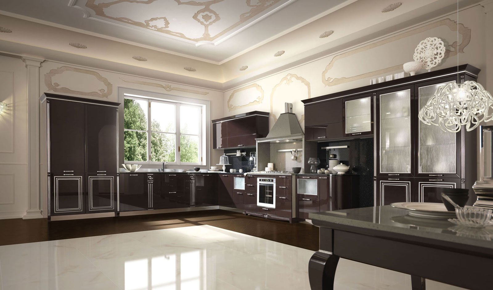 Cucine classiche in legno o laccate cose di casa - Cucine classiche immagini ...