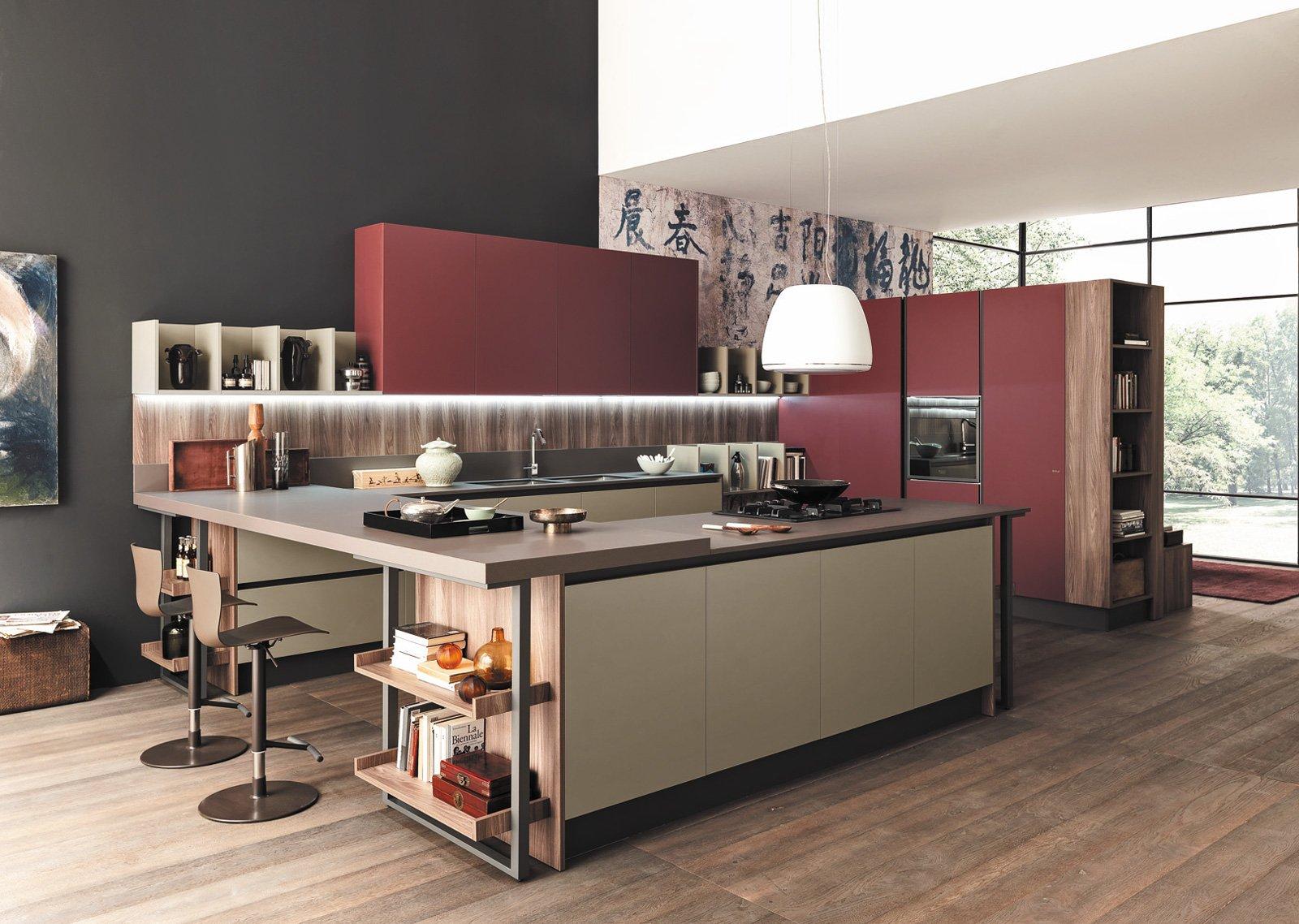 cucine-living con vani a giorno - cose di casa - Soggiorno Febal 2