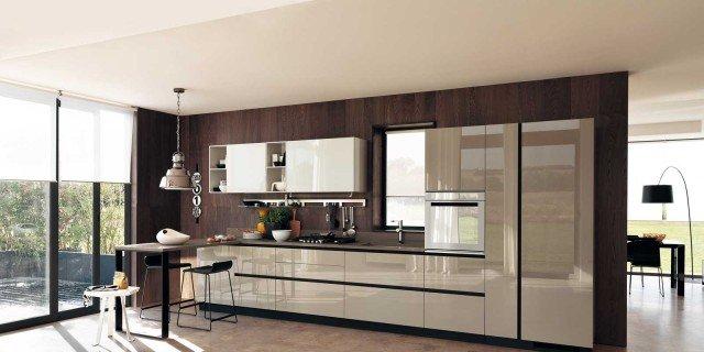 Cucine in vetro laccato cose di casa - Cucine moderne colorate ...