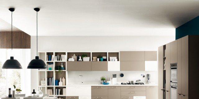 Cucine living con vani a giorno cose di casa - Cucine living moderne ...