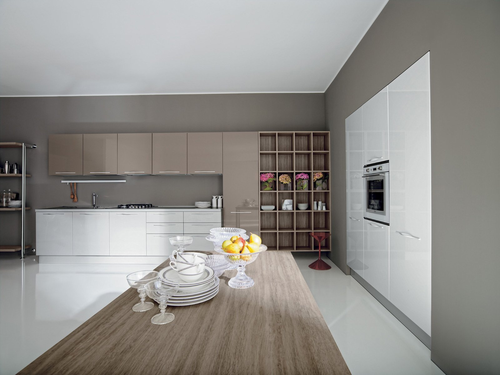 Cucine Tortora. Cheap Cucina Kelly Bianco E Tortora With Cucine ...