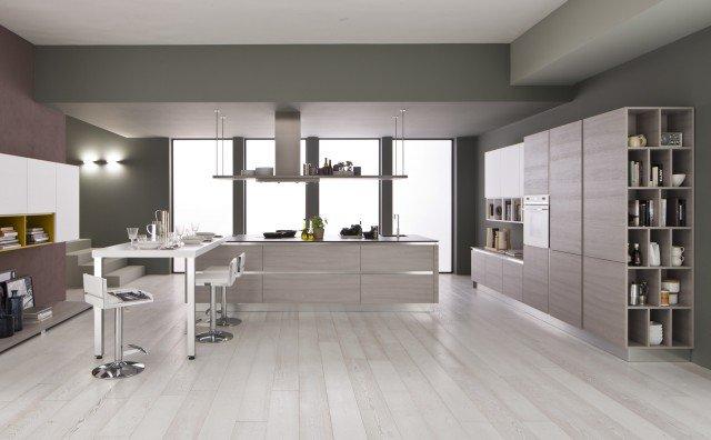 Cucine living con vani a giorno cose di casa - Cucine arrex opinioni ...