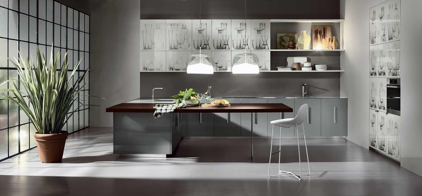 Cucine in vetro laccato - Cose di Casa