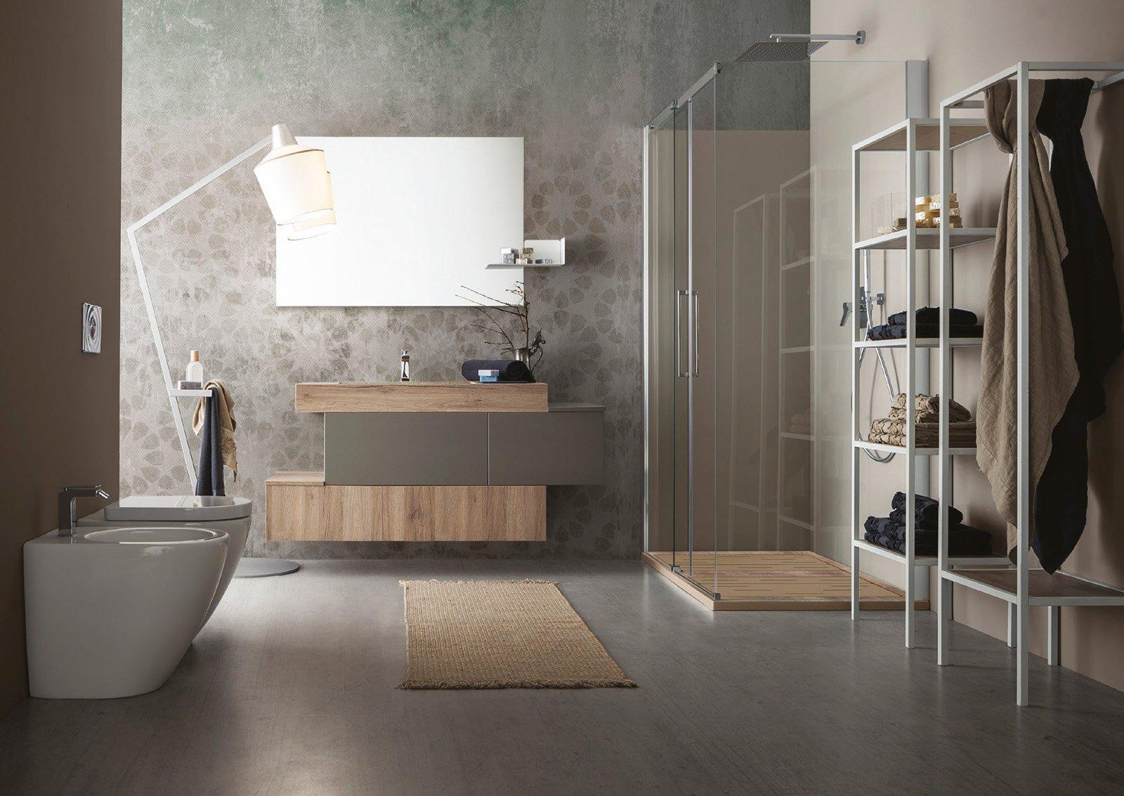 Un bagno completo con il nuovo progetto firmato cerasa cose di casa - Bagno di casa ...