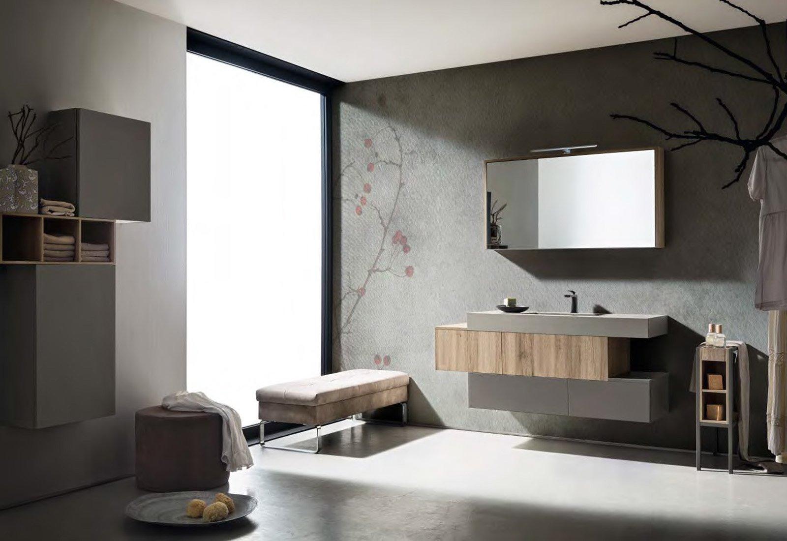 Un bagno completo con il nuovo progetto firmato cerasa - Come lucidare una vasca da bagno opaca ...