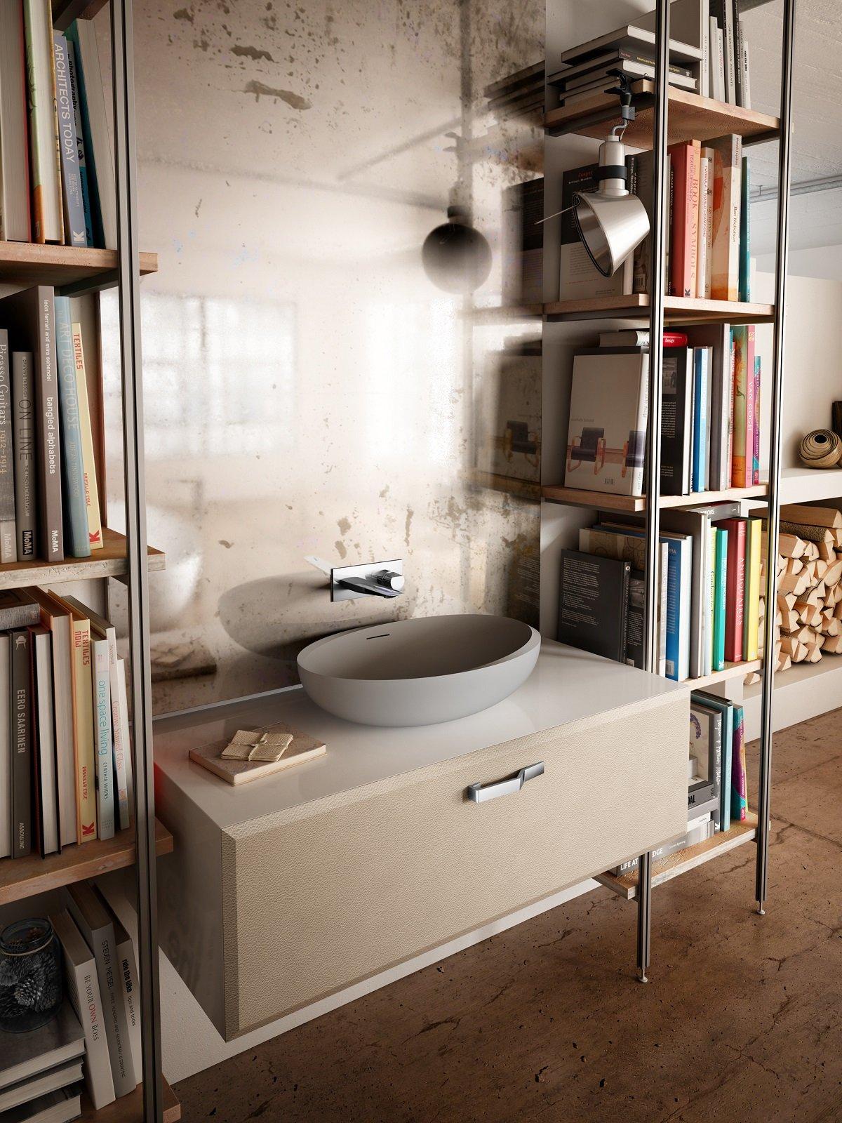 per il lavabo non solo ceramica cose di casa. Black Bedroom Furniture Sets. Home Design Ideas