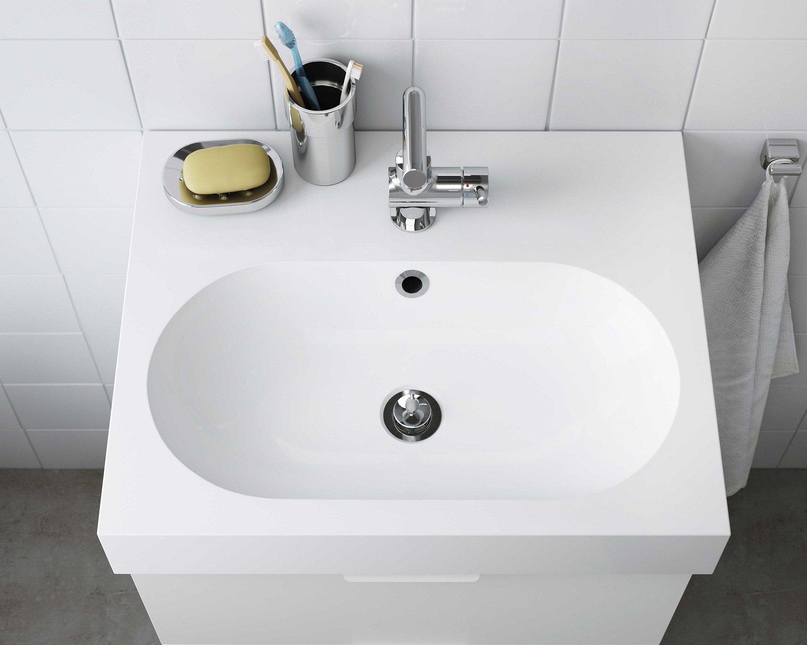 Come Pulire Il Lavabo In Resina lavandini per bagno in diversi materiali, non solo ceramica
