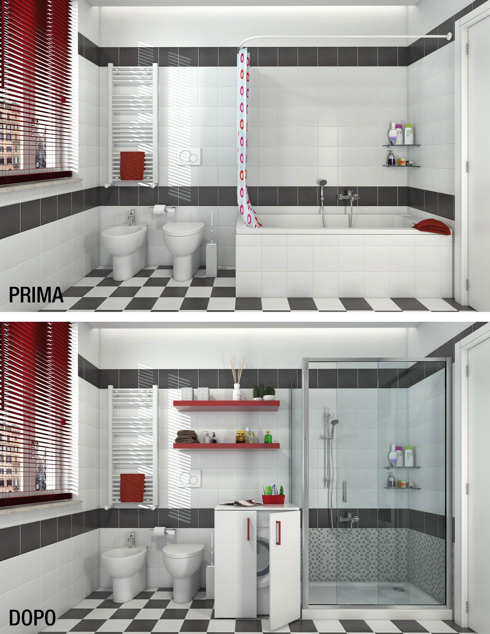 Bagno: trasformare la vasca in doccia - Cose di Casa