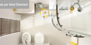 Per il bagno, design e stile per spazi piccoli