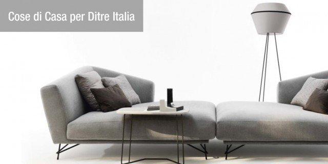 Il total outfit di Ditre Italia: sedute e complementi coordinati