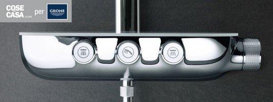 Doccia: nuovi comandi facili e intuitivi con Grohe Rainshower® SmartControl