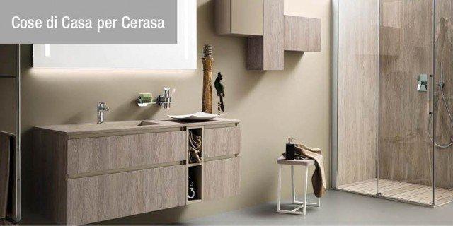 Un bagno completo con il nuovo progetto firmato Cerasa - Cose di Casa