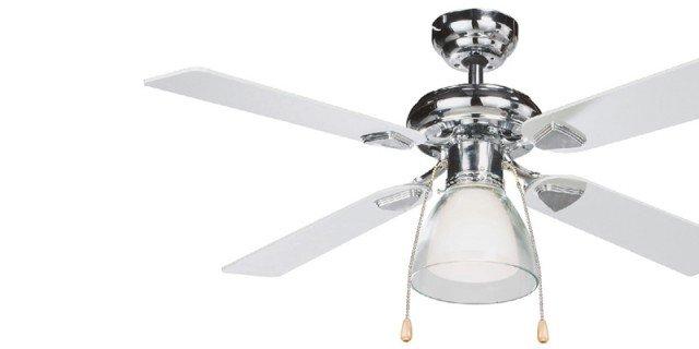 Ventilatori a pale, aria fresca dall'alto