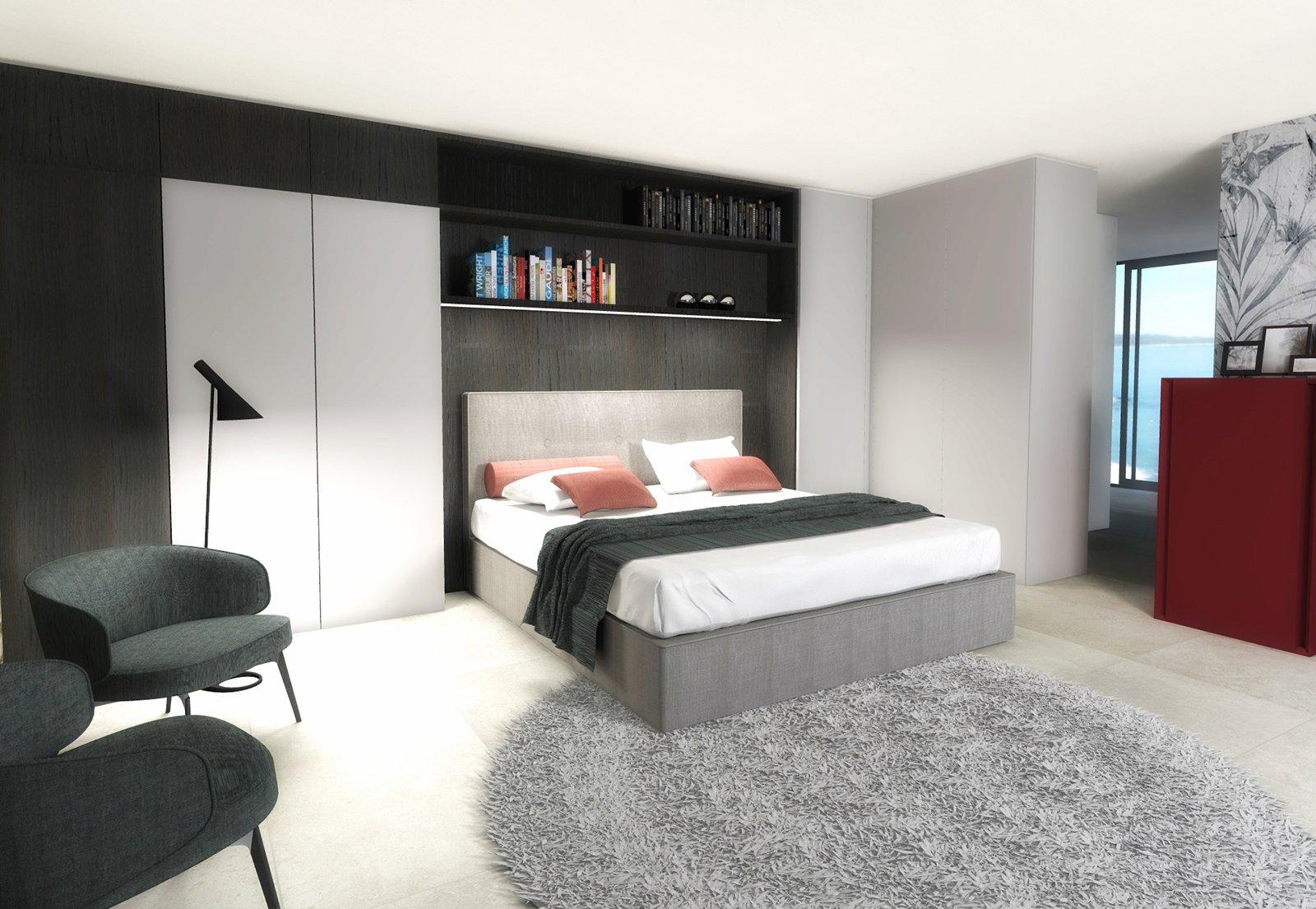 Una stanza in più dividendo con la libreria-armadio - Cose di Casa
