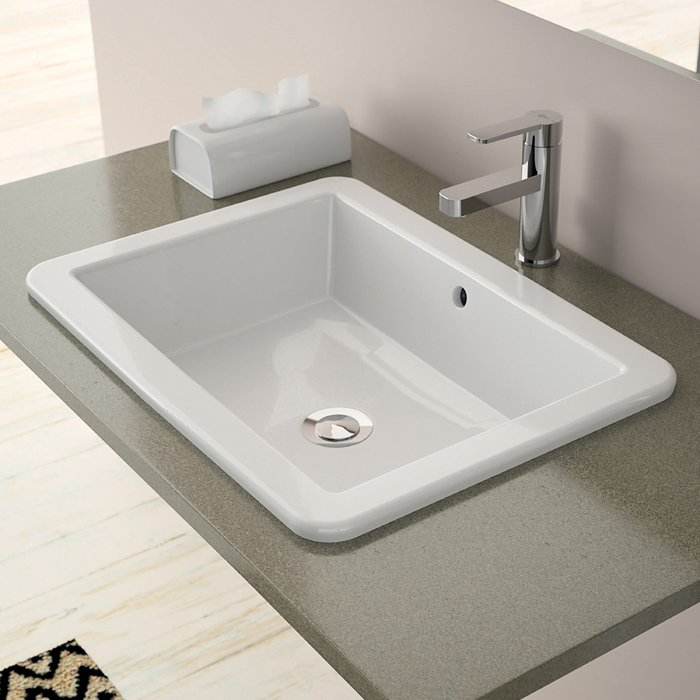 Guida alla scelta del lavabo cose di casa - Lavabo bagno da incasso ...