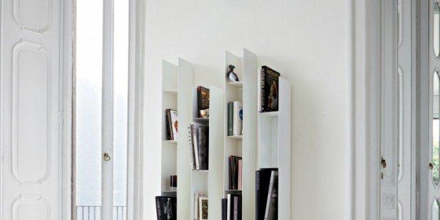 Mini librerie e mini scaffali, anche per spazi ridotti