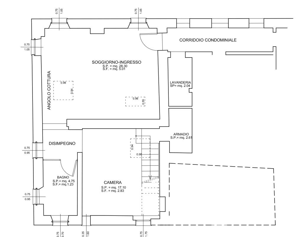 Planimetria 2 cose di casa - Planimetria di una casa ...