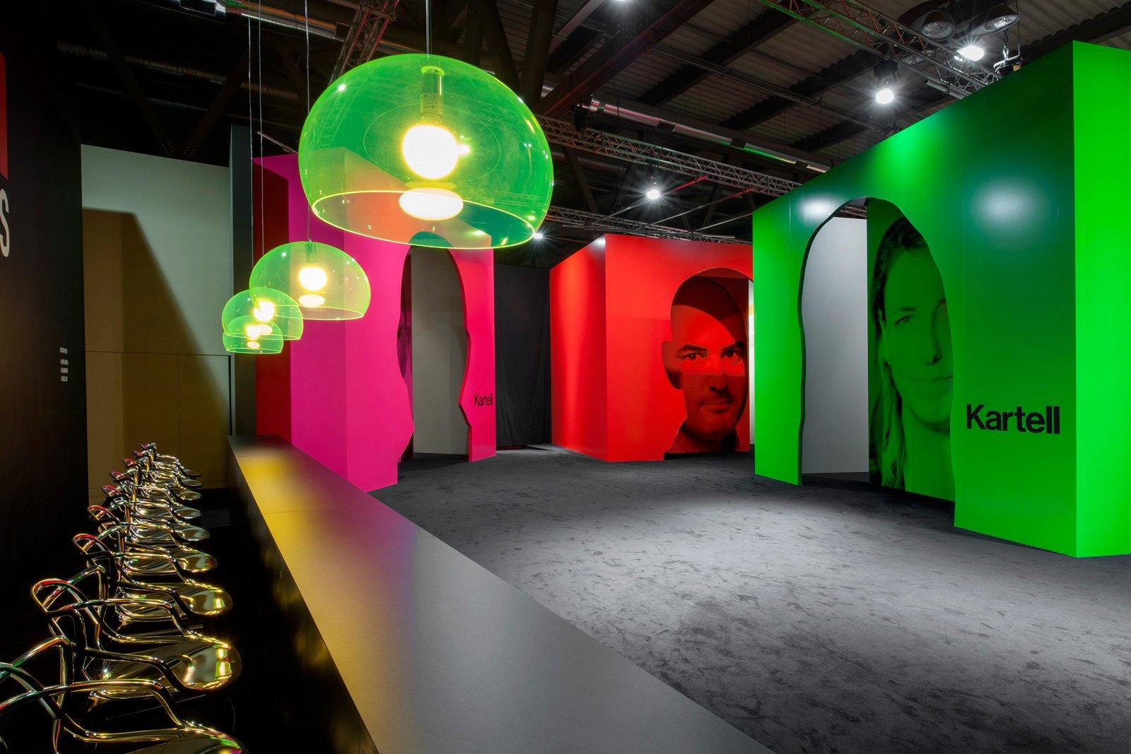 Kartell Padiglione Al Salone Del Mobile : Salone del mobile ano award prima edizione cose di casa
