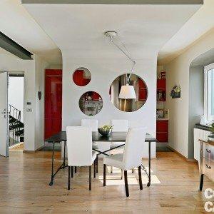 5 idee da copiare per 77 mq prima fra tutte la divisione for Ingresso living su soggiorno