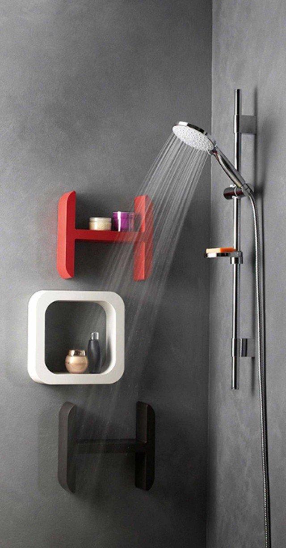 10) Il saliscendi con la tecnologia Easy Install per il montaggio fai-da-te ha gli attacchi a parete mobili e riposizionabili. 9cento di Damast www.damast.it
