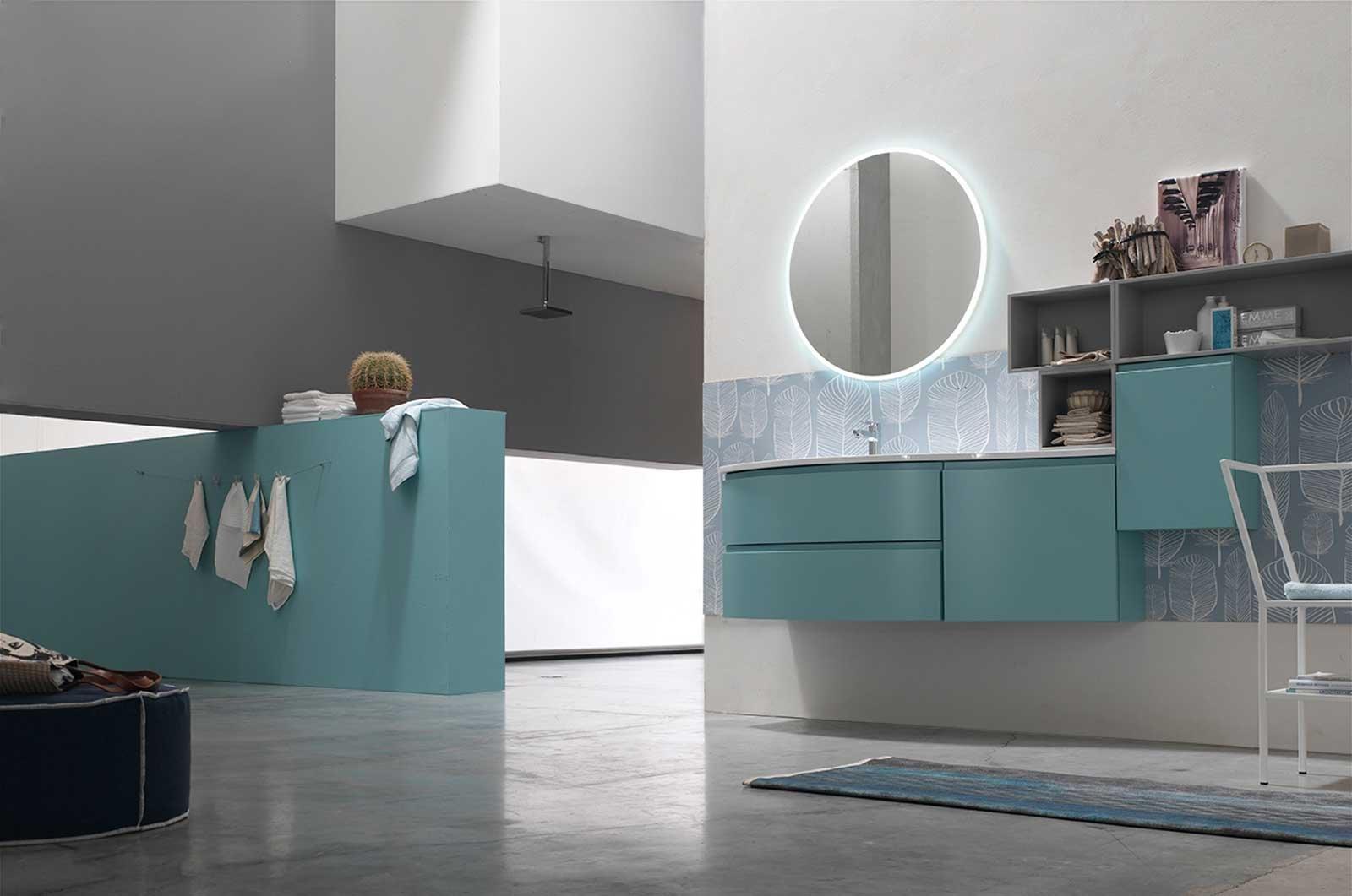 Mobili bagno un nuovo sistema componibile e - Nuovo arredo mobili bagno ...