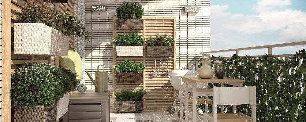 Arredare bene il balcone per vivere al meglio la bella for Arredare il balcone