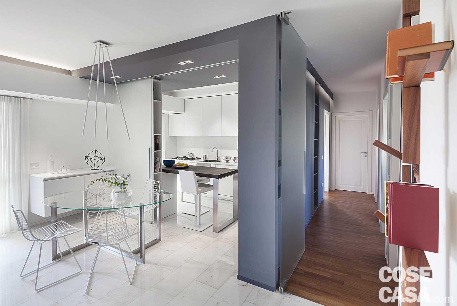 80 mq con controsoffitti funzionali e d 39 effetto cose di casa - Controsoffitti in cucina ...