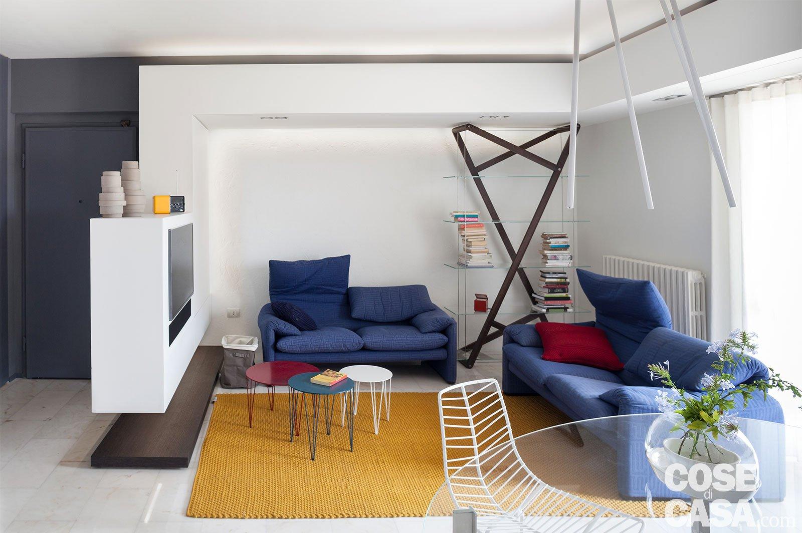 80 mq con controsoffitti funzionali e deffetto cose di casa