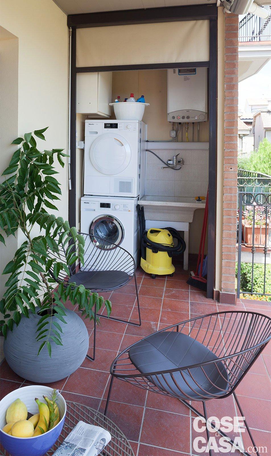 80 mq con controsoffitti funzionali e d 39 effetto cose di casa - Asciugatrice colori diversi ...