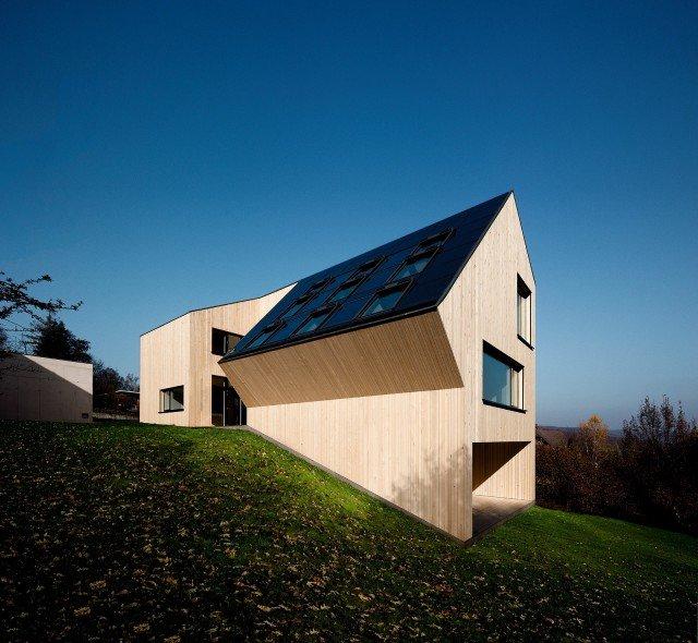 Una casa attiva che produce pi energia di quella che - Isolare parete interna a nord ...