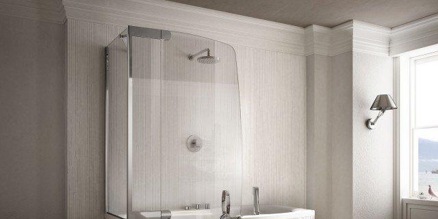 Salvaspazio la vasca con doccia cose di casa for Piccola doccia della casa