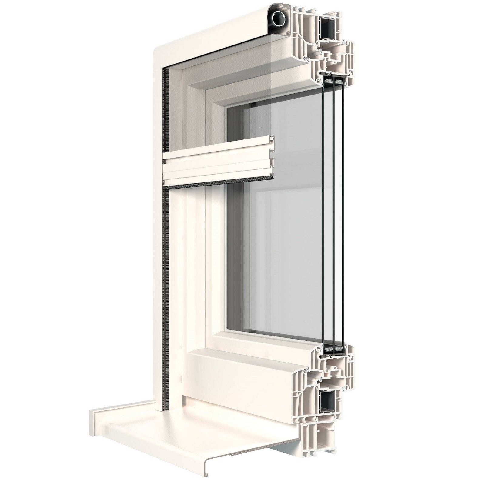 Una zanzariera perfettamente integrata nella finestra - Zanzariera finestra prezzo ...