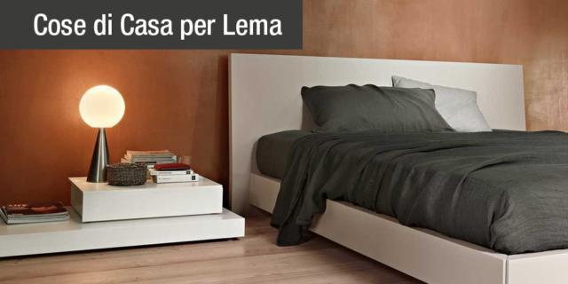Letti Lema con contenitore: eleganti e salvaspazio