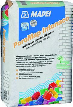 L'intonaco deumidificate macroporoso Poromap di Mapei è adatto per contrastare il problema dell'umidità di risalita. www.mapei.com