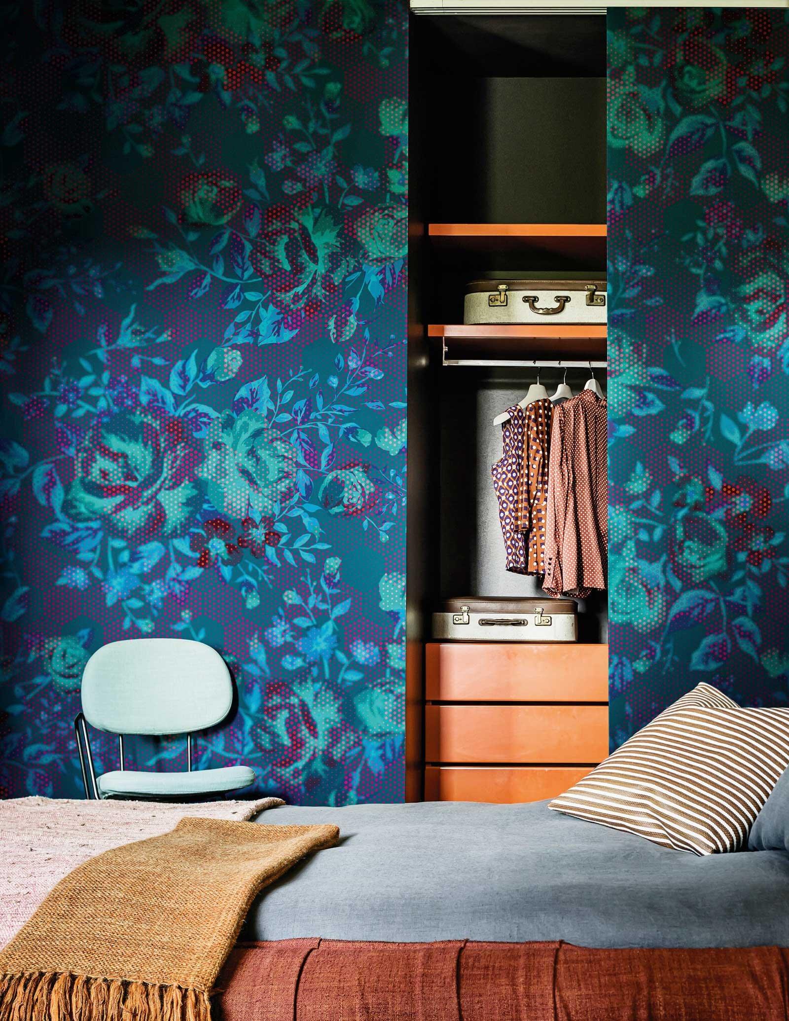 Carte da parati per arredare le pareti cose di casa - Mobili pitturati ...
