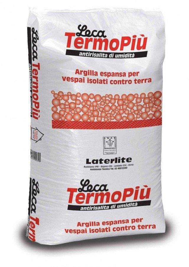 Argilla espansa per vespai aerati Leca TermoPiù di Leca